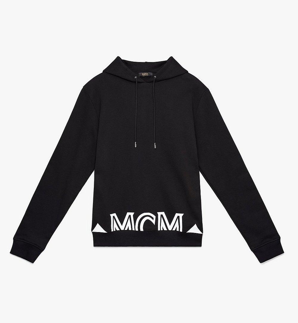 MCM Men's Milano Hoodie Black MHA9ADA72BK00M Alternate View 1