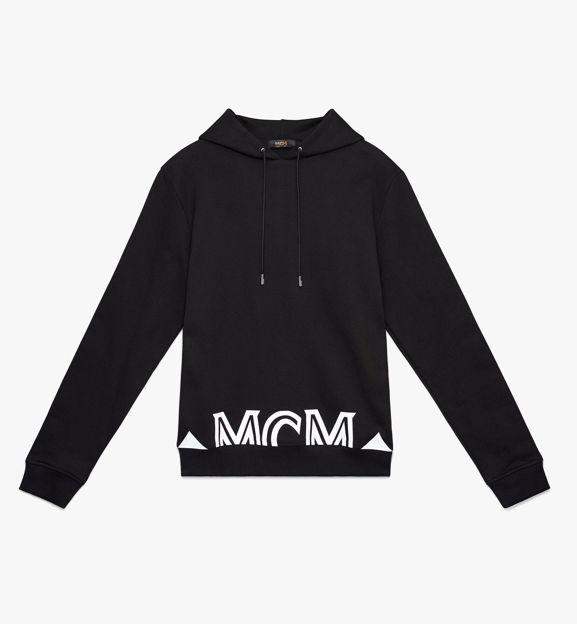 MCM 〈ミラノ〉メンズ フードパーカ Black MHA9ADA72BK00S Alternate View 1
