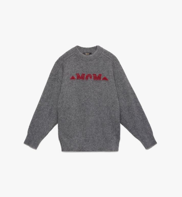 MCM Sweat-shirt Milano demi-logo pour homme Alternate View