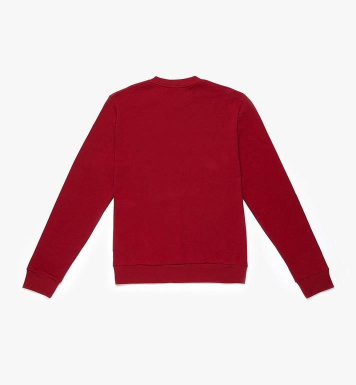 MCM Men's Logo Sweatshirt Red MHA9AMM02RU00L Alternate View 2