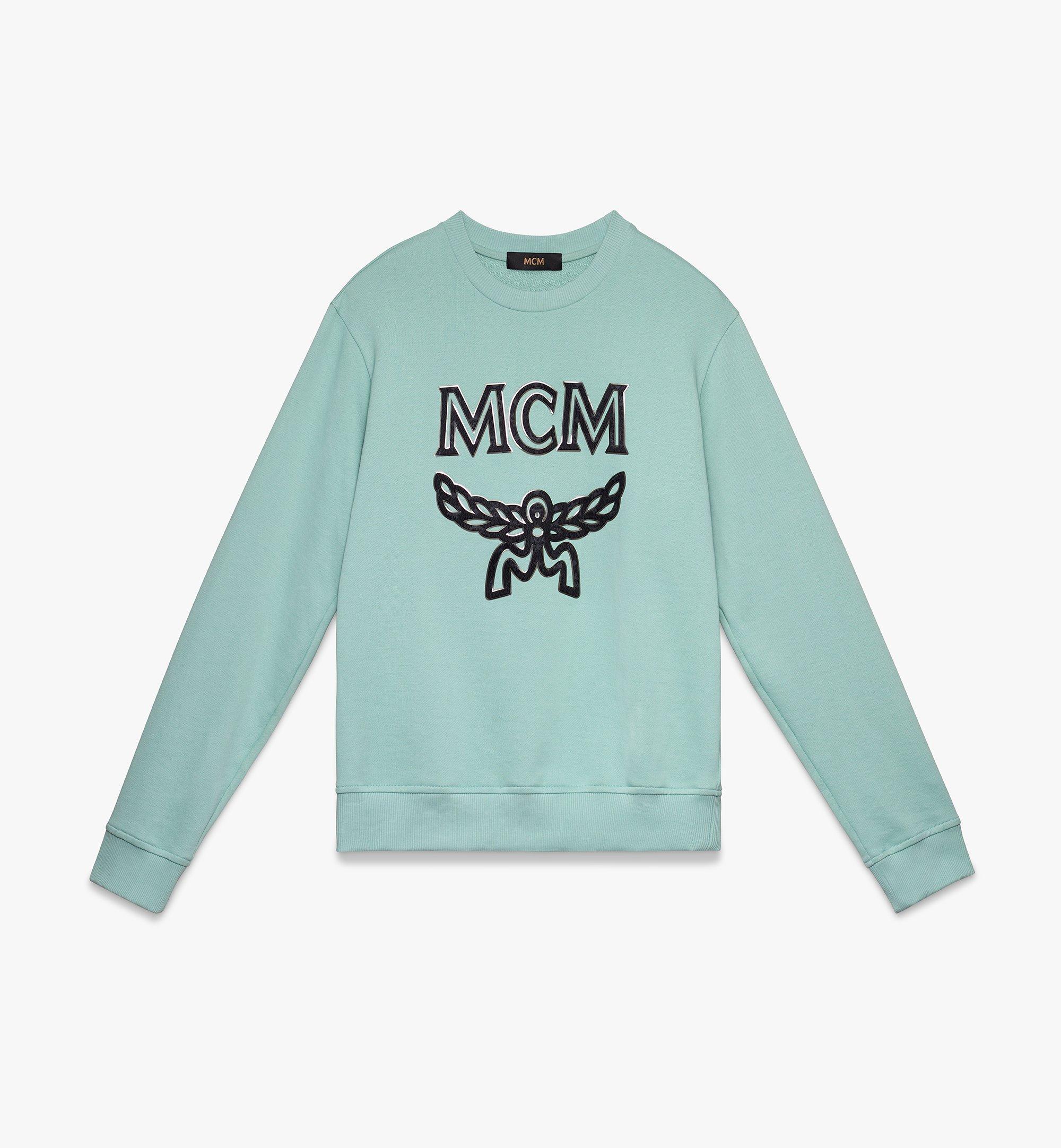 MCM Men's Logo Sweatshirt  MHA9AMM12GS00L Alternate View 1