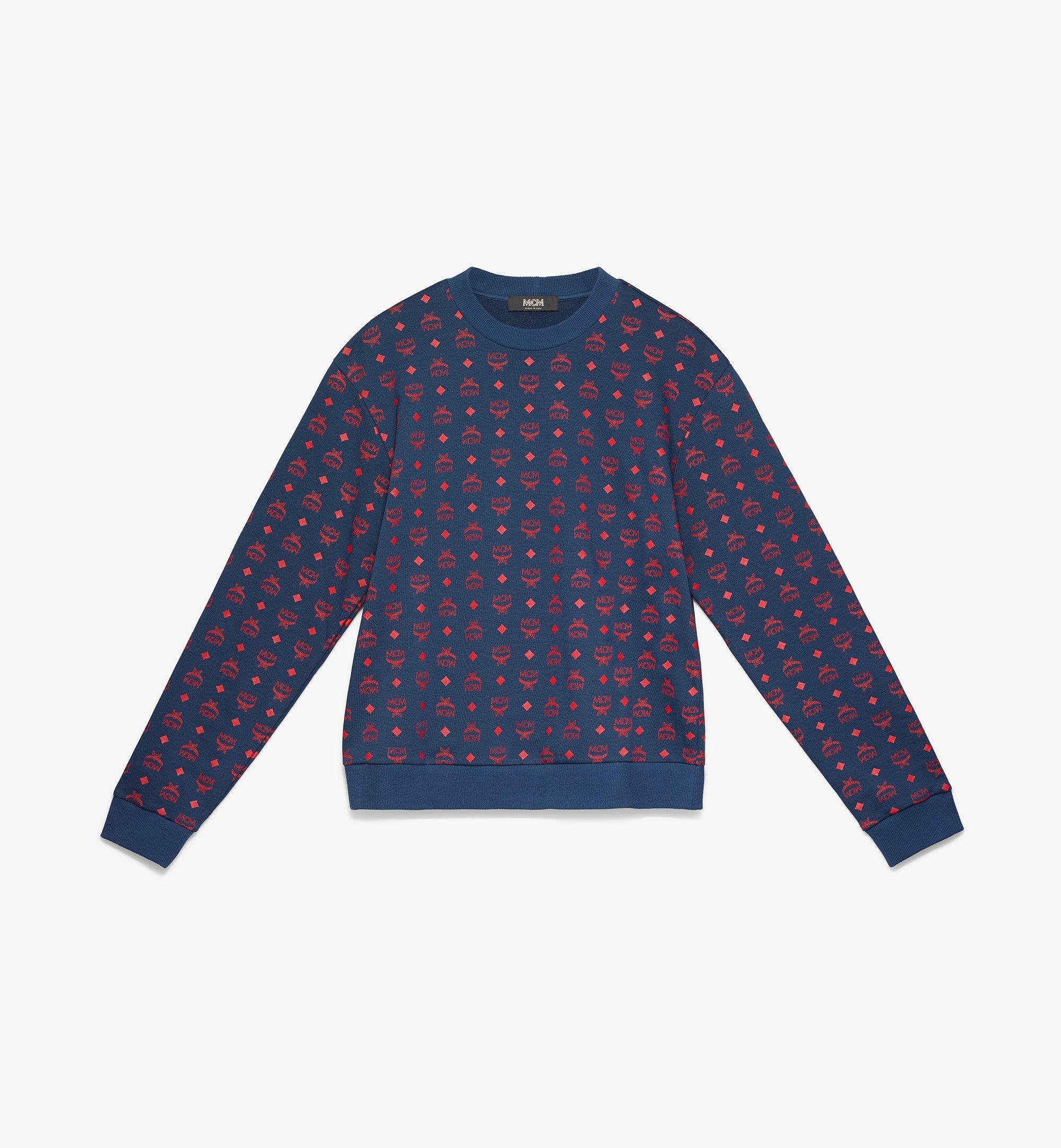 Men's Oversized Sweatshirt in Visetos