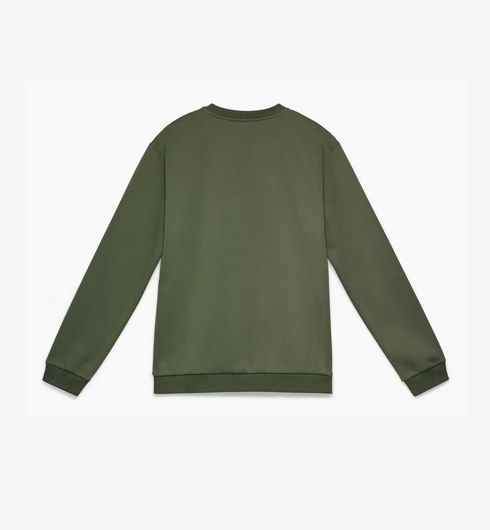 MCM Herren-Sweatshirt mit Kristall-Logo  MHA9AMM96G800L Alternate View 2