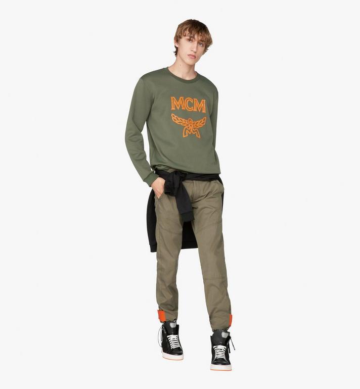 MCM Herren-Sweatshirt mit Kristall-Logo  MHA9AMM96G800L Alternate View 3