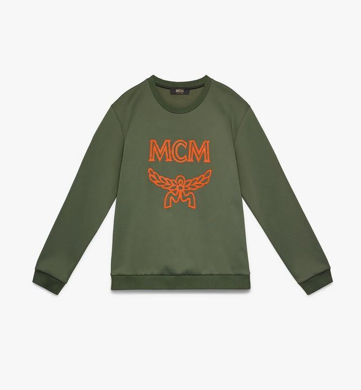 MCM メンズ クリスタル ロゴ スウェットシャツ Alternate View