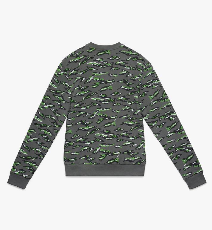 MCM Men's Pop Milano Sweatshirt Green MHA9APS59GR00M Alternate View 2