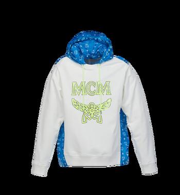 MCM Sweat à capuche en nylon monogrammé pour homme Alternate View
