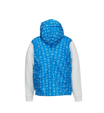 MCM Sweat à capuche en nylon monogrammé pour homme Alternate View 3