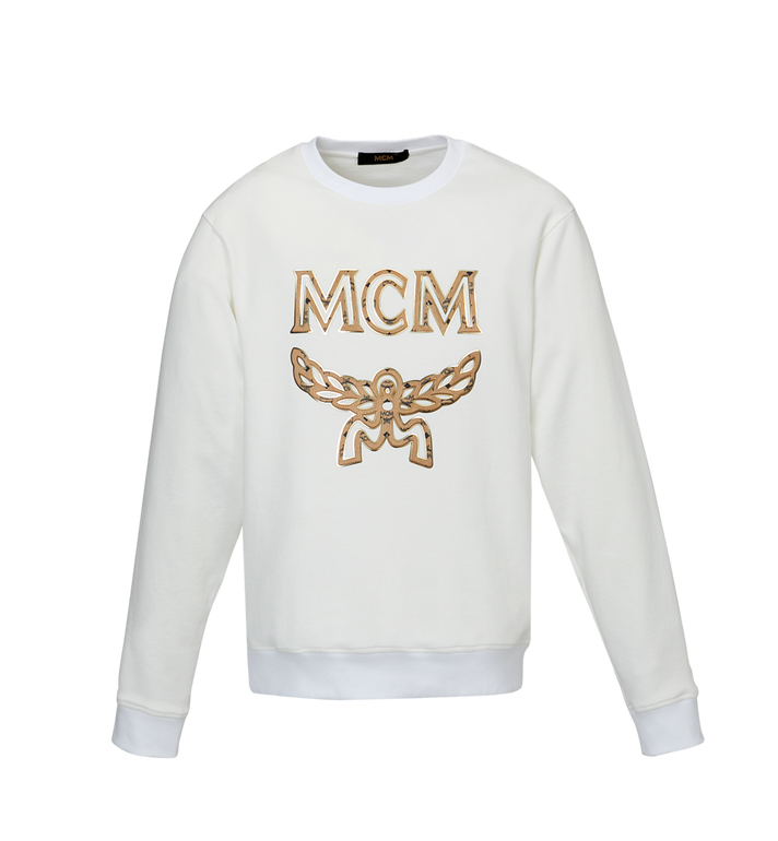 MCM Herren Logo Sweatshirt MHA9SMM12WT00L AlternateView1