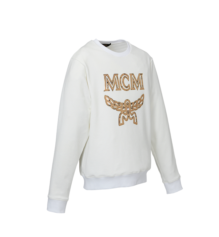 MCM Herren Logo Sweatshirt MHA9SMM12WT00L AlternateView2