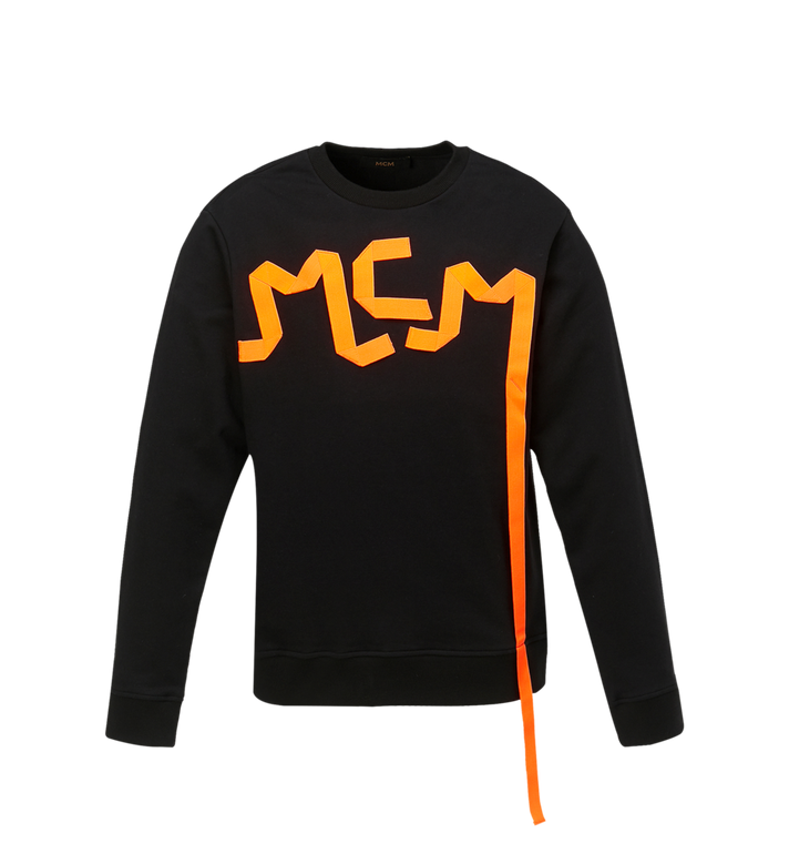 MCM Sweat-shirt à bande logo pour homme Alternate View