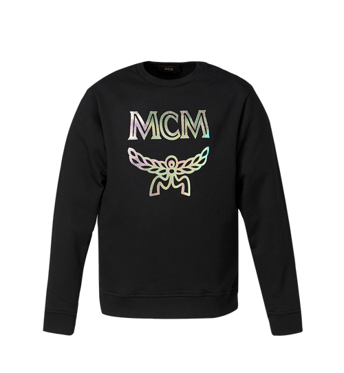Men's Hologram Print Logo Sweatshirt
