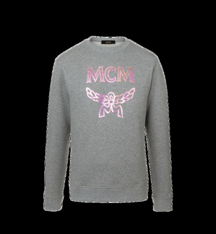 MCM Sweat-shirt à imprimé logo holographique pour homme Alternate View