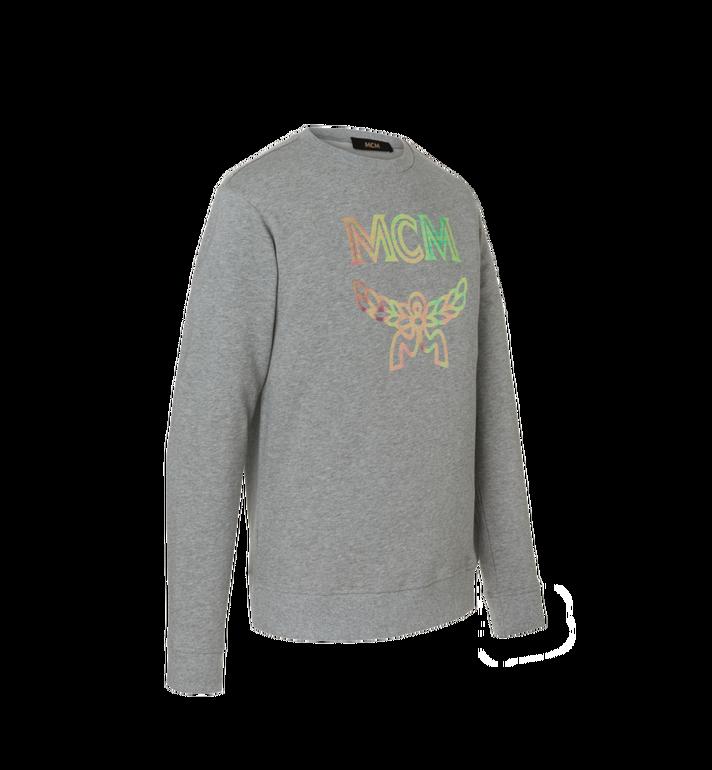 MCM Sweat-shirt à imprimé logo holographique pour homme Alternate View 2