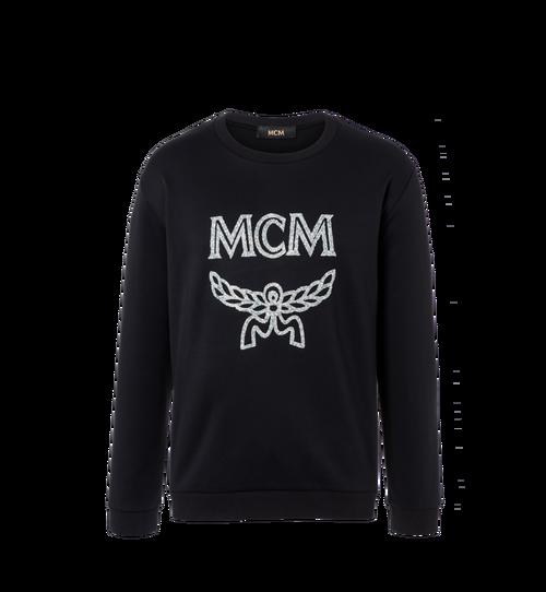 Men's Crystal Detail Logo Sweatshirt