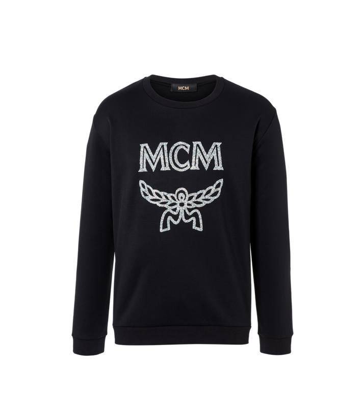 MCM Herren-Sweatshirt mit Crystal Detail Logo Alternate View