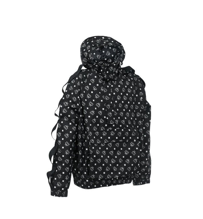 MCM Anorak structurel en nylon pour homme Black MHA9SNX17BK046 Alternate View 2