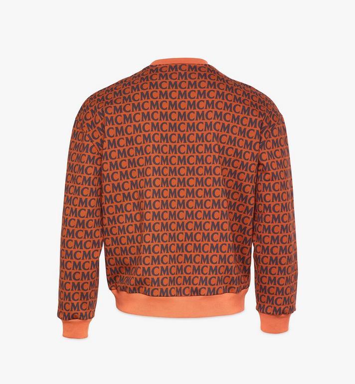 MCM Sweatshirt mit Monogramm für Herren Brown MHAAAMD01C400L Alternate View 2