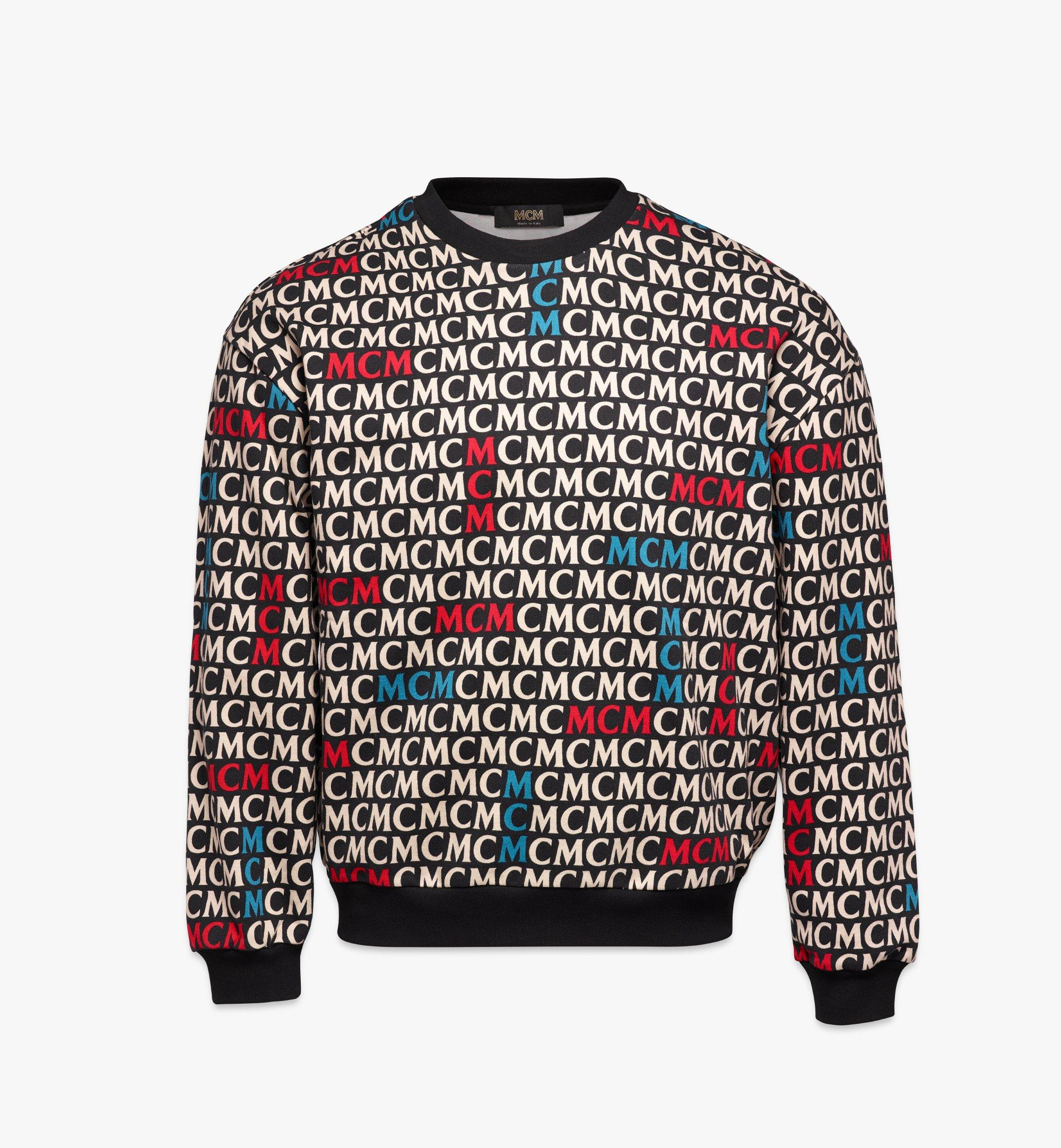 Xx Large Men S Monogram Sweatshirt Black Mcm Pt