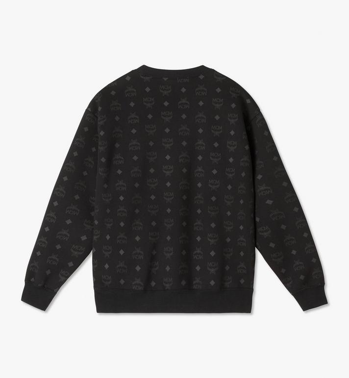 MCM 〈MCM x PHENOMENON〉メンズ リフレクティブ モノグラム スウェットシャツ Black MHAASJP01BK00L Alternate View 2