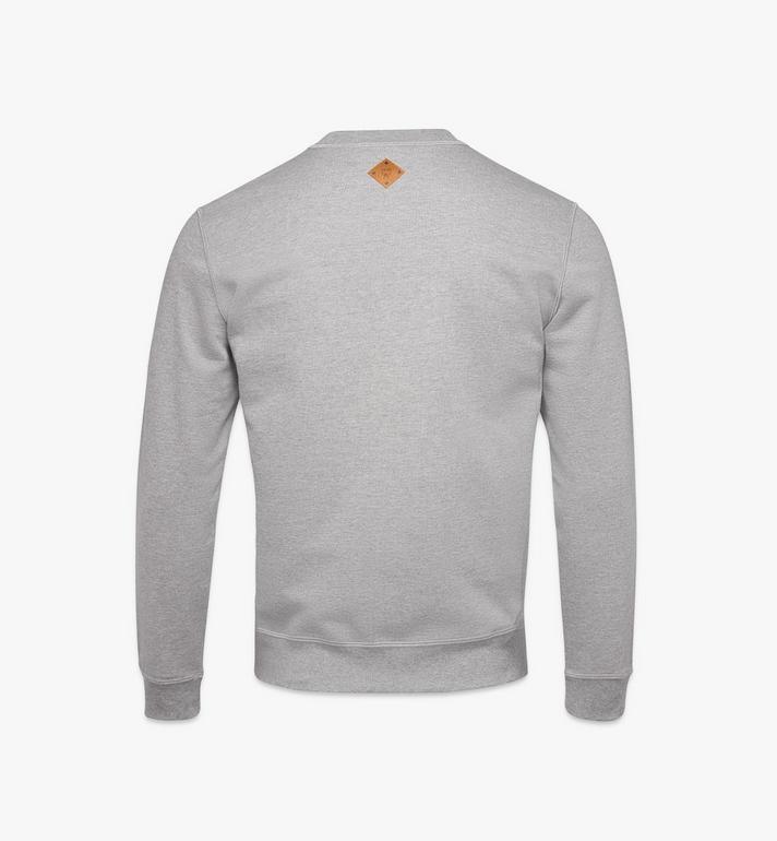 MCM Sweat-shirt logo classique pour homme Black MHAASMM01FM00L Alternate View 2