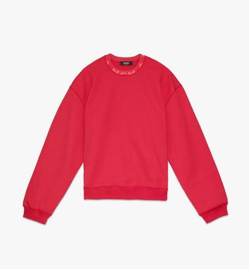 남성용 로고 트림 스웨트 셔츠