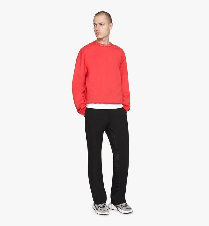 MCM 남성용 럭스 크루 넥 스웨터 Red MHAASMM02R400M Alternate View 3