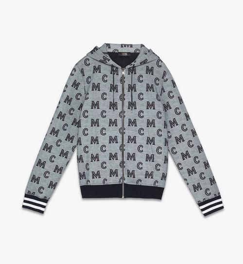 Sweat-shirt zippé à capuche pour homme