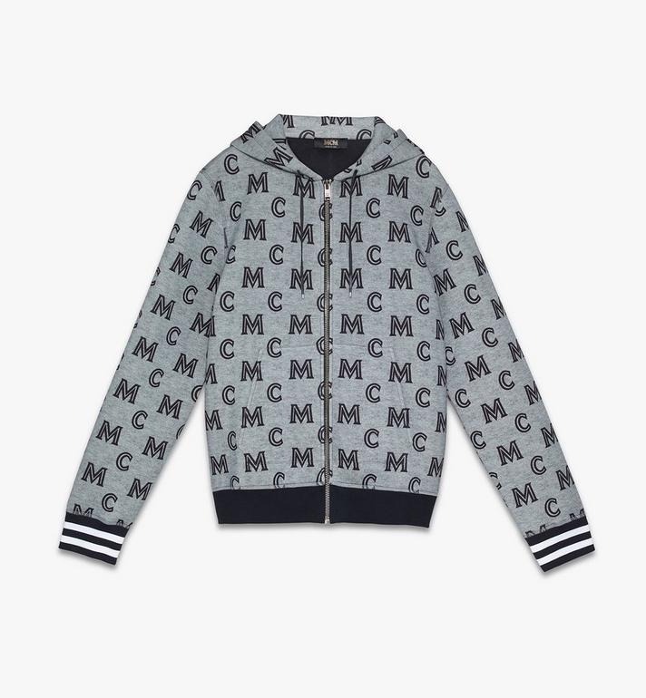MCM Men's Monogram Zip-Up Hoodie Alternate View