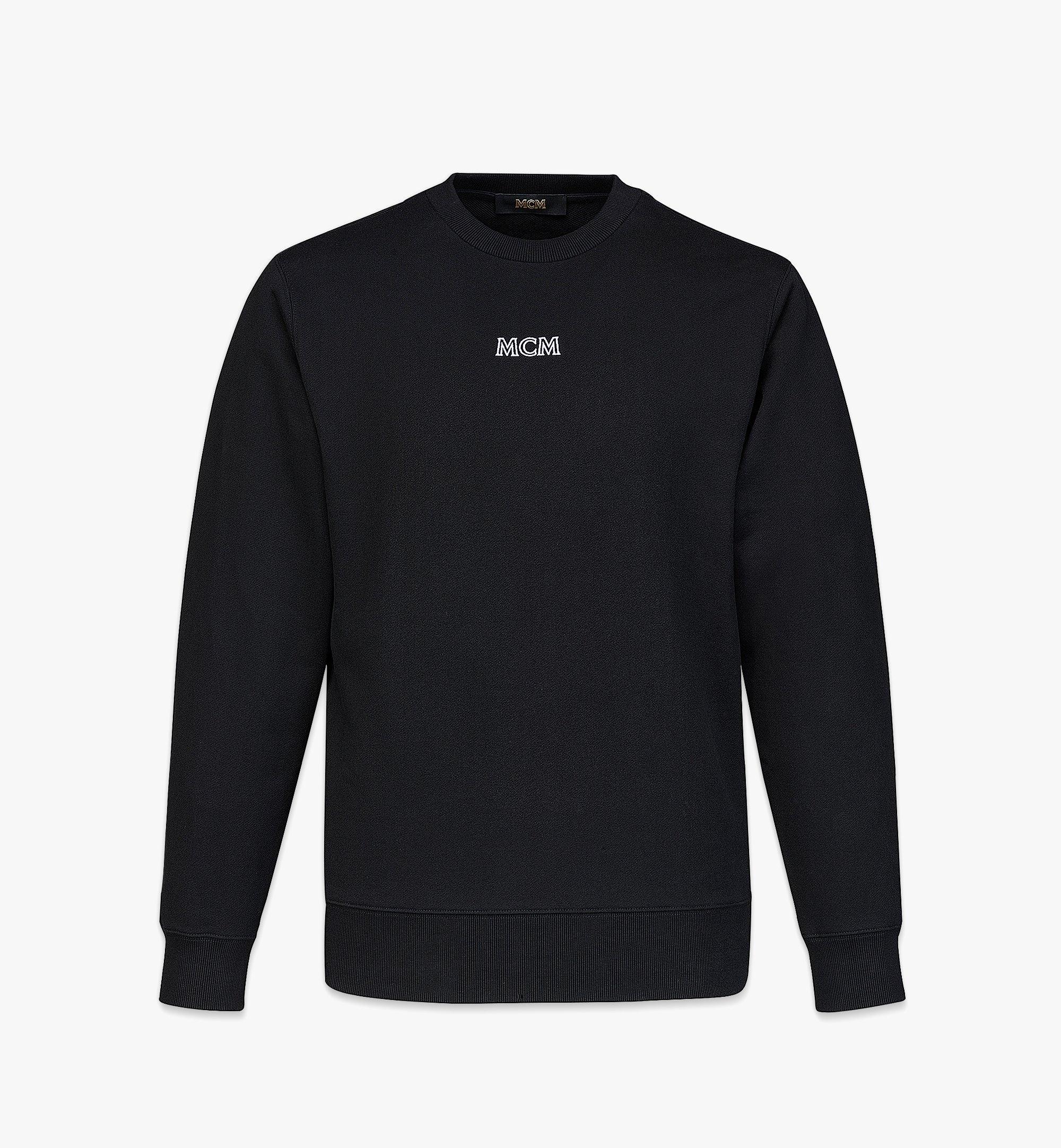 MCM Logo-Sweatshirt MCM Essentials aus Bio-Baumwolle für Herren Black MHABABC01BK00L Noch mehr sehen 1