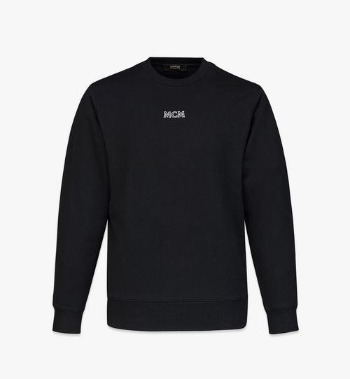 남성용 MCM 베이직 오가닉 코튼 로고 스웨트셔츠