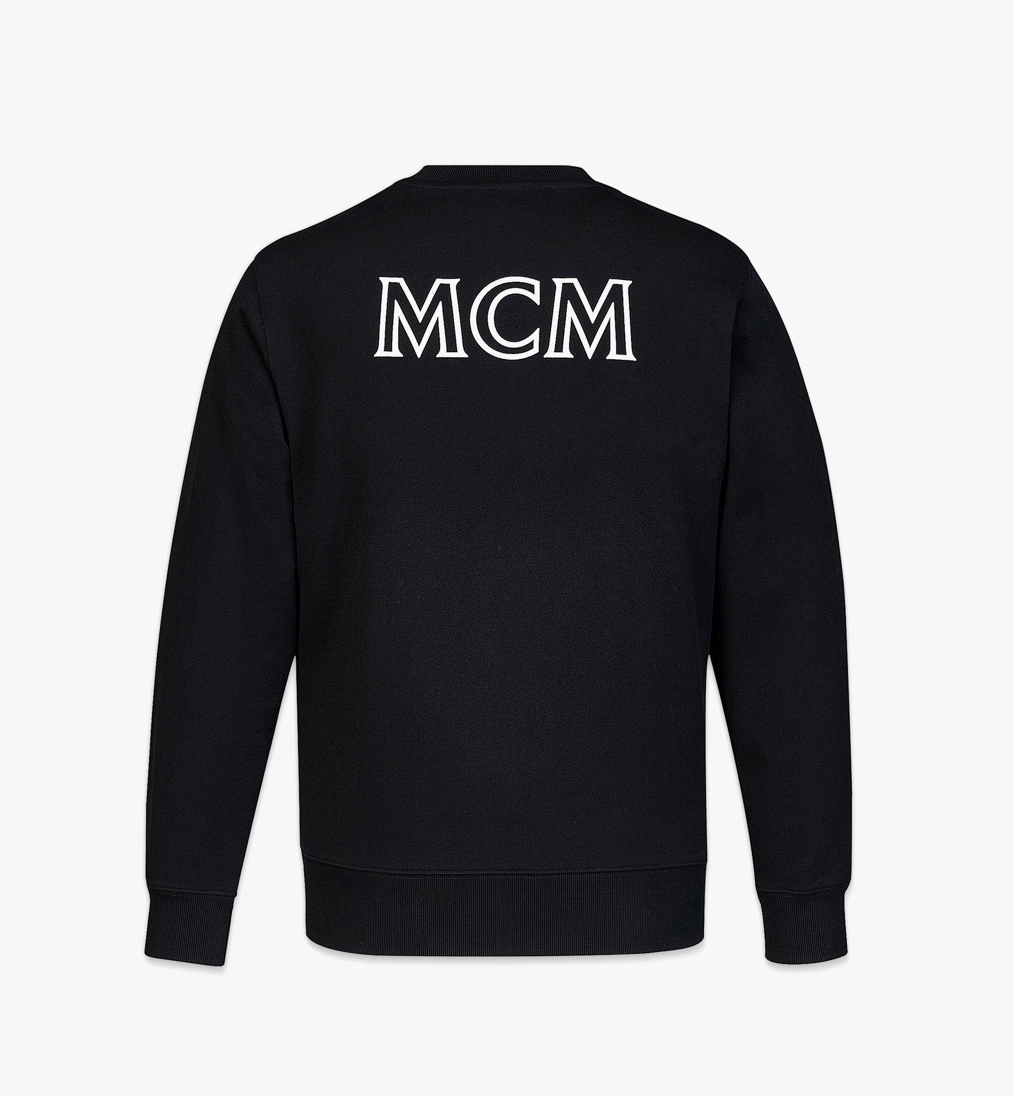 MCM Logo-Sweatshirt MCM Essentials aus Bio-Baumwolle für Herren Black MHABABC01BK00M Noch mehr sehen 1