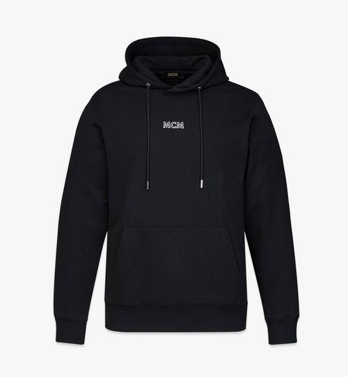 Men's MCM Basics Logo Hoodie in Organic Cotton
