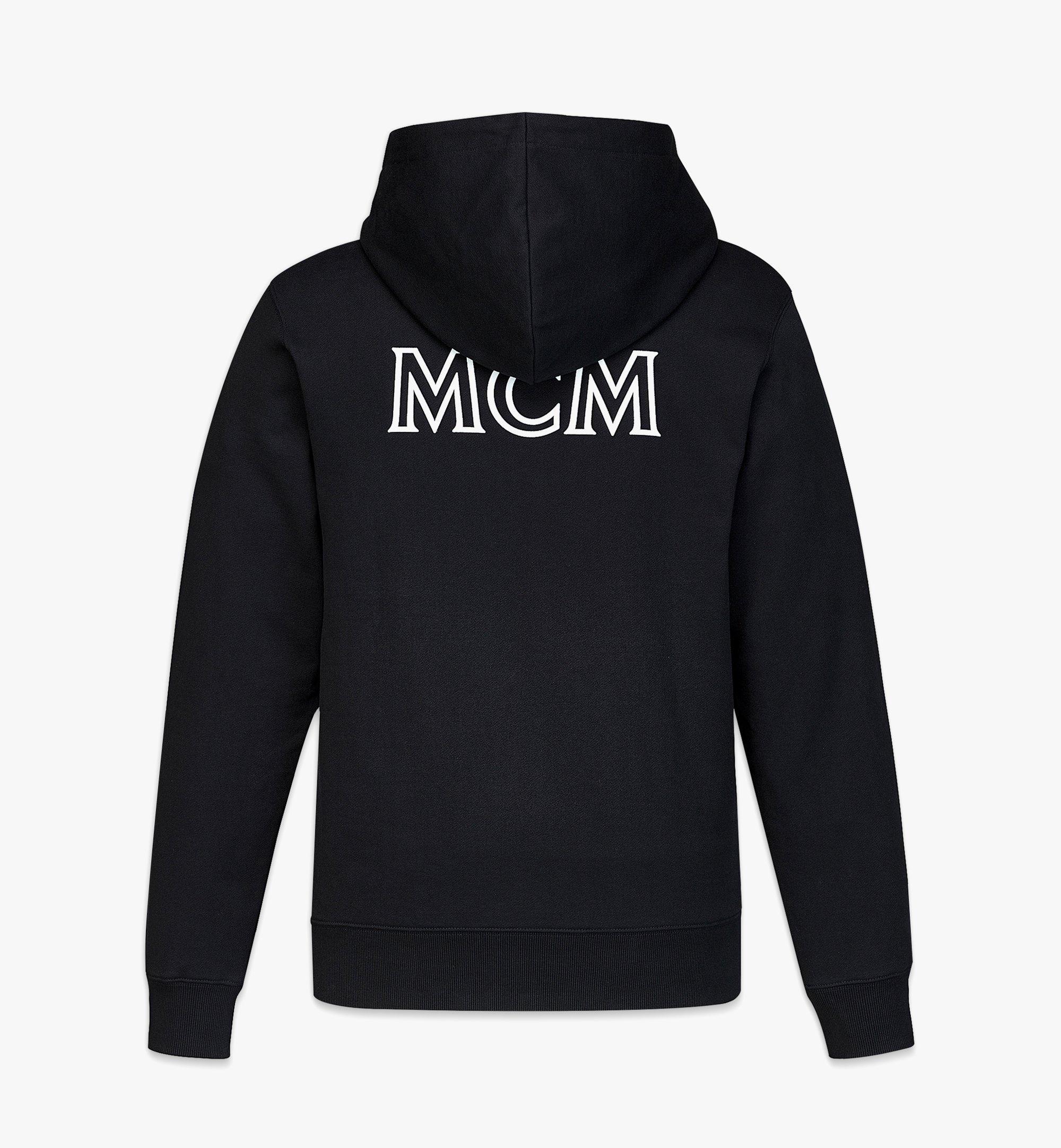 MCM Logo-Kapuzenpulli MCMEssentials aus Bio-Baumwolle für Herren Black MHABABC02BK00L Noch mehr sehen 1