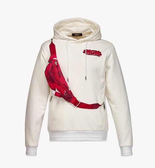Men's Logo Hoodie w/ Wave Visetos Belt Bag