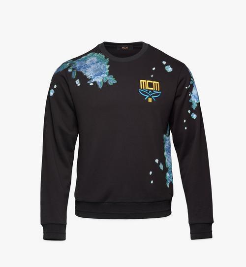 Sweatshirt mit Tech-Flower-Print für Herren