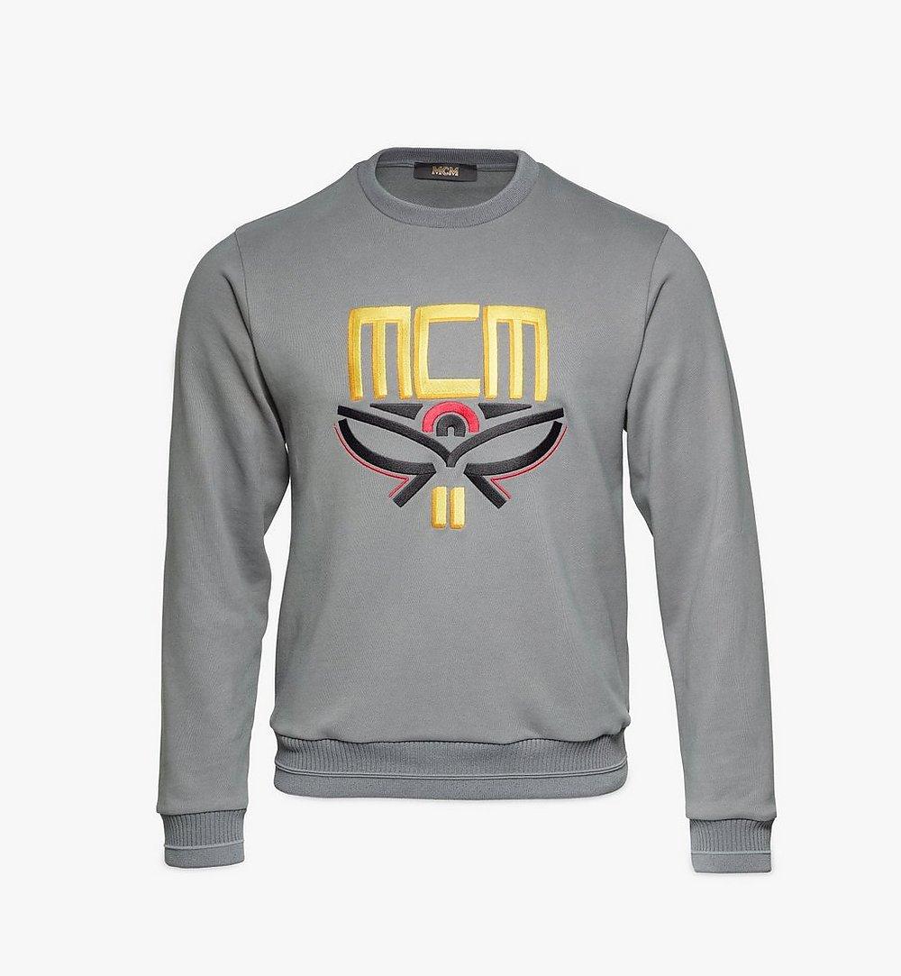 MCM 男士Geo月桂叶运动衫 Grey MHABSMM04EC00M 更多视角 1