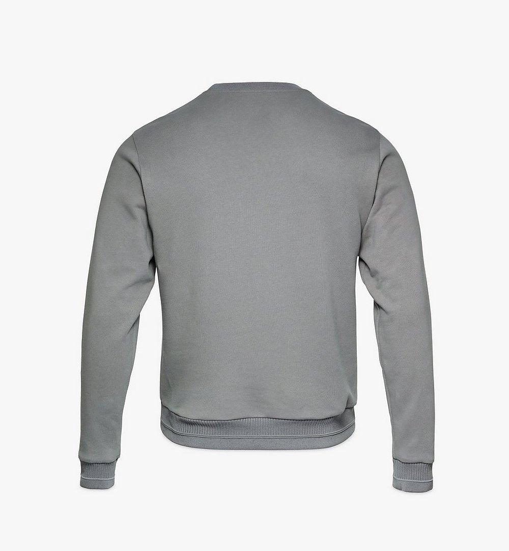 MCM Men's Geo Laurel Sweatshirt Grey MHABSMM04EC00M Alternate View 1