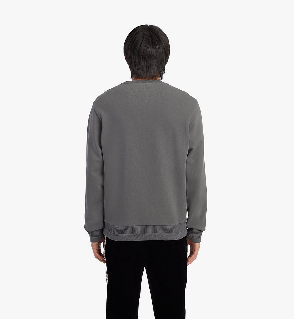 MCM 男士Geo月桂叶运动衫 Grey MHABSMM04EC00M 更多视角 3