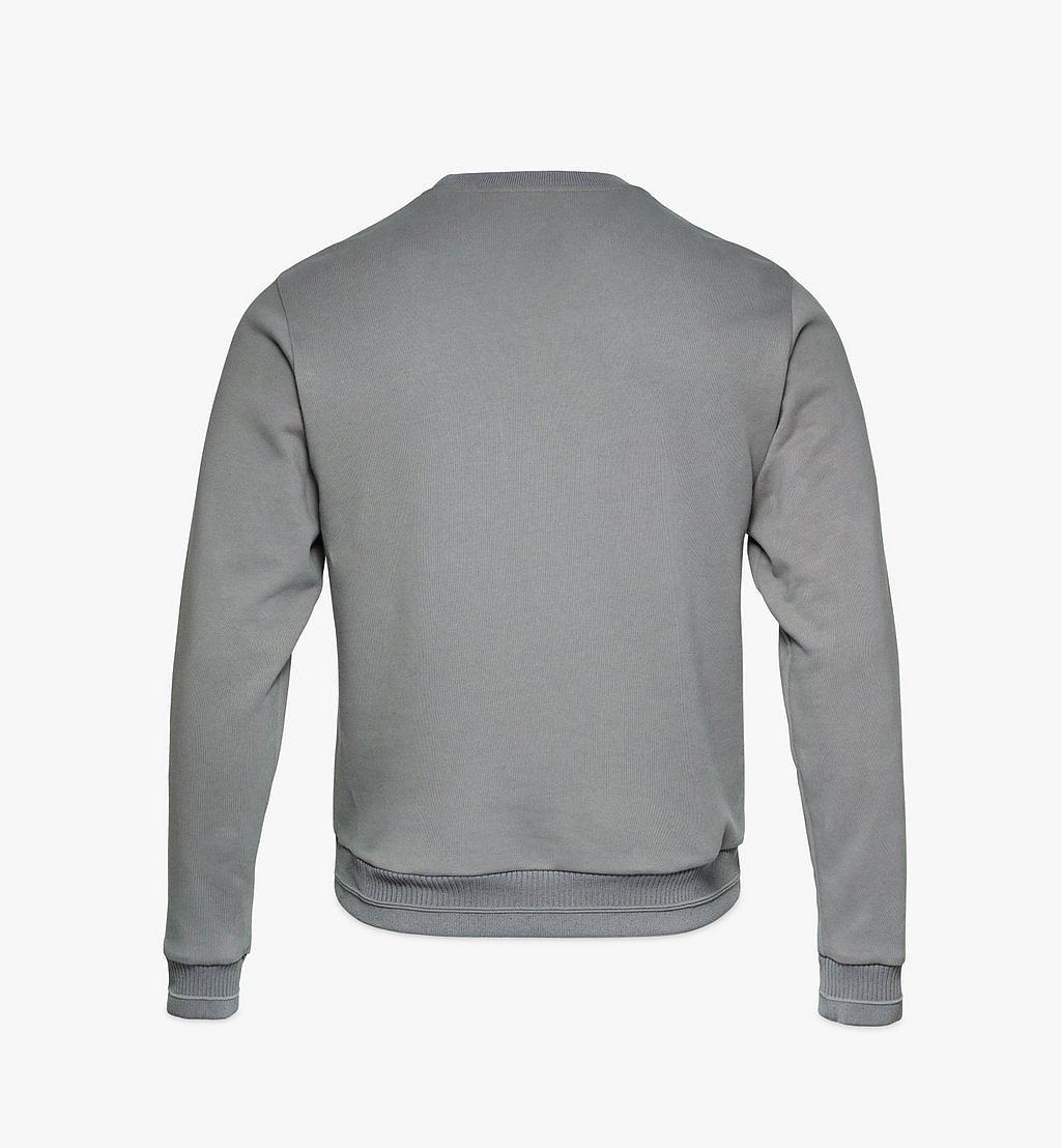 MCM Men's Geo Laurel Sweatshirt Grey MHABSMM04EC00S Alternate View 1