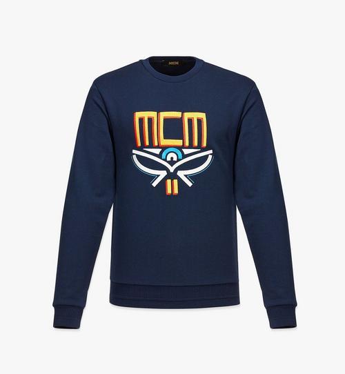 Sweatshirt mit geometrischem Lorbeerkranz für Herren