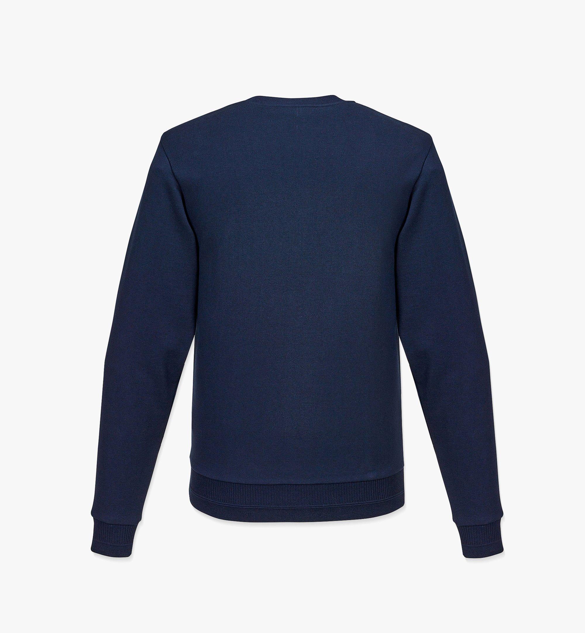 MCM 男士Geo月桂叶运动衫 Blue MHABSMM04U100M 更多视角 1