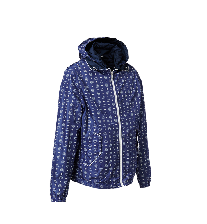 MCM Men's Monogram Reversible Windbreaker Blue MHC8SMM01HT0XL Alternate View 2