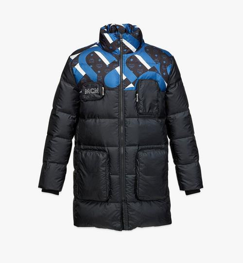 Unisex Wave Visetos Down Jacket in Recycled Polyester