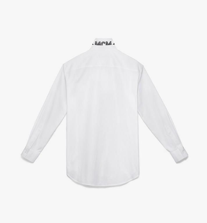 MCM Men's Resnick Shirt White MHH9ARA39WT050 Alternate View 2