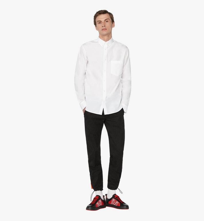 MCM Men's Resnick Shirt White MHH9ARA39WT050 Alternate View 3