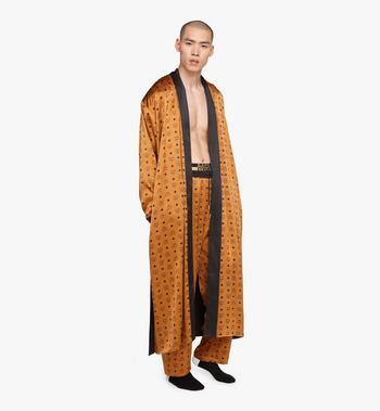 MCM Classic Logo Silk Reversible Robe  MHHASBM02CO00L Alternate View 5