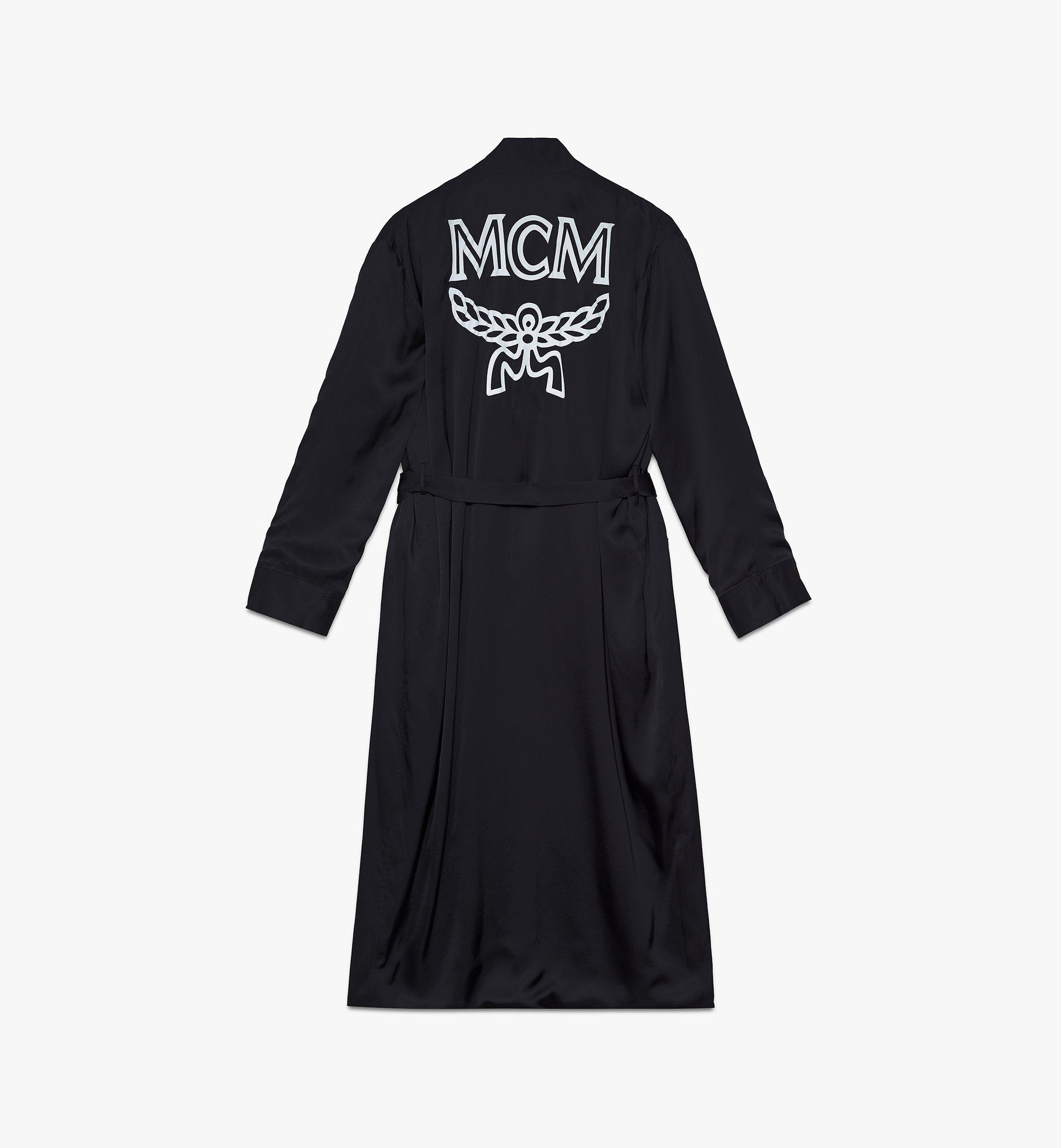 MCM Classic Logo Silk Reversible Robe Cognac MHHASBM02CO00M Alternate View 4