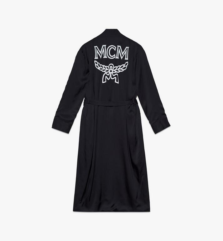 MCM Classic Logo Silk Reversible Robe Cognac MHHASBM02CO00S Alternate View 4