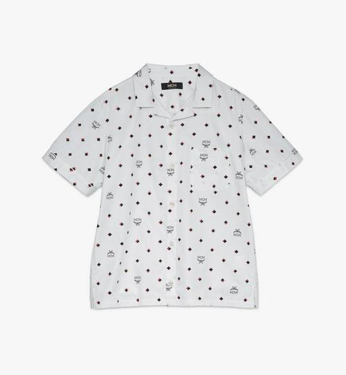 〈MCM 1976〉メンズ ディスコ ダイヤモンドプリント シャツ